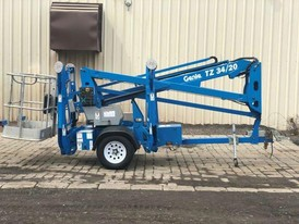 2014 Genis Towable Boom Lift