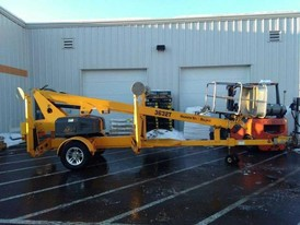 2012 Bil - Jax Towable Boom Lift