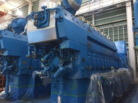 28000 kW, 6600V New-Rolls Royce Diesel Power Plant