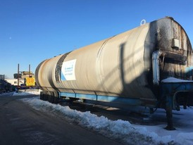Gencor 25,000 Gallon Coiled Steel Tank