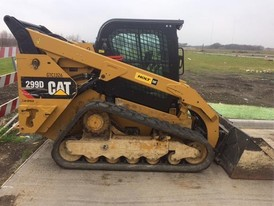 2014 CAT 299D Skid Steer