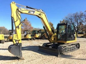 2016 CAT 308E CR Mini Excavator