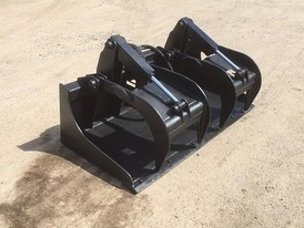 Blue Diamond Grapple Bucket Attachment