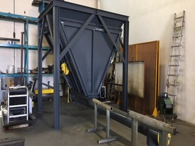 20,000 CFM Reverse Jet Bag House Dust Collector
