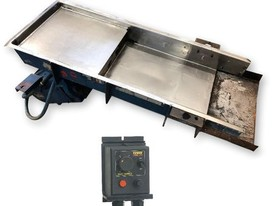 FMC 18in. wide x 53in. long Vibrating Pan Feeder