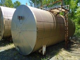 8 ft. Dia. x 20 ft. Long Steel Tank