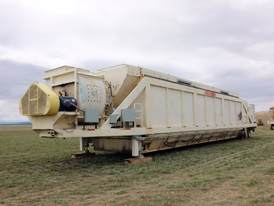 Portable 90,000 ACFM Baghouse Dust Collector