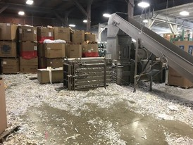 2002 Allegheny Shredding System with Baler