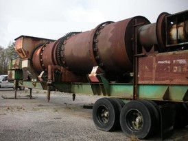 Barber Greene 72 in. x 24 ft. Rotary Drum Dryer