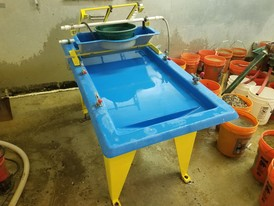 Action Mining M7 Wave Concentrating Table