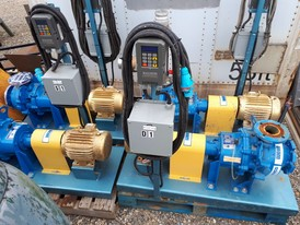 Wemco Hidrostal End Suction Pumps