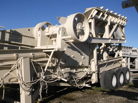 Portable Universal 30 in. x 42 in. Jaw Crushing Plant