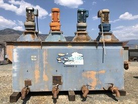 4 Cell Metso Attrition Scrubbers