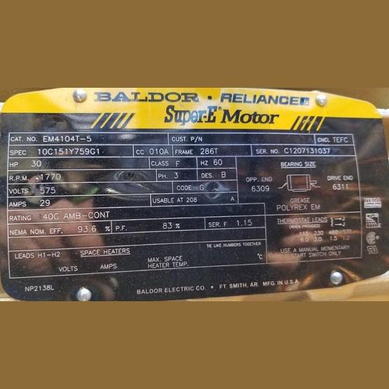 Savona Equipment Sells New York 18,000 CFM Centrifugal Blower