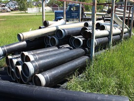 10 in. (HDPE) Poly Pipe