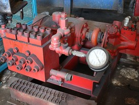 National Triplex Piston Pump