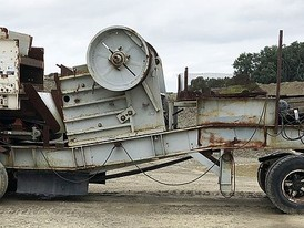 Hewitt Robbins 2142 Grizzly Jaw Crushing Plant