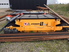 Steinert 2.3m wide Overband Magnetic Separator