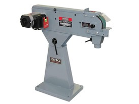 King Industrial Metal Belt Sander
