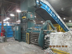 American Wide Mouth Horizontal Baler