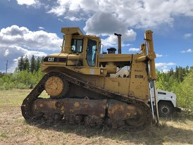 1991 Caterpillar D10N Crawler Dozer