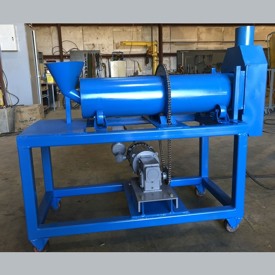 Used 8 Inch X 36 Inch Rotary Dryer For Sale Lab Size