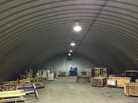40 ft. x 100 ft. Steel Quonset Hut