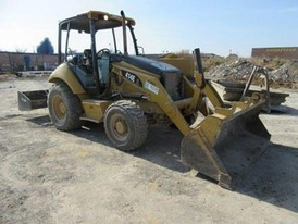 CAT 414E Wheel Loader