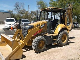 2017 CAT 420F Backhoe