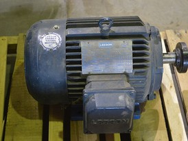 Leeson 3 HP Electric Motor