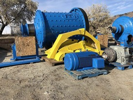 8 ft. x 10 ft. Allis Chalmers Rubber-Lined Ball Mill