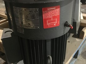 US Electric 3 HP Vertical Motor