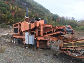 2003 Eagle 20 x 36 Jaw Crushing Plant