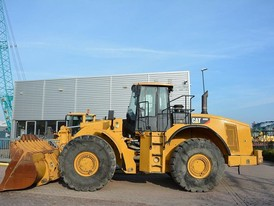 2011 Caterpillar 980H Wheel Loader
