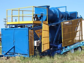 66 inch Portable Rotary Dryer/Rotary Kiln