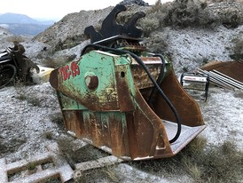 Tramac Bucket Jaw Crusher