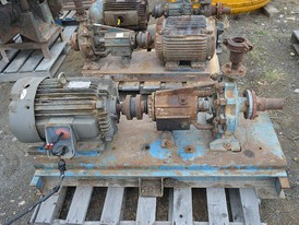 Allis Chalmers Horizontal Single Shaft Centrifugal Pump