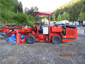 Sandvik DD210 Single Boom Development Drill