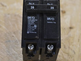 Commander 2 Pole 20 Amp Breaker