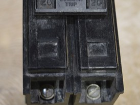 Westinghouse 2 Pole 20 Amp Breaker