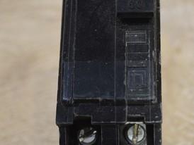 Square D 2 Pole 60 Amp Breaker