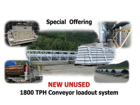 New Unused 1800 TPH Conveyor Loadout System