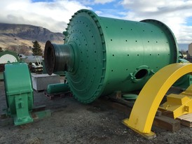 Allis Chalmers 9 ft. x 10 ft. Ball Mill