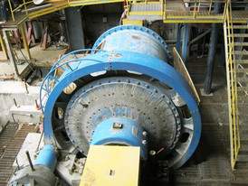 Allis Chalmers 9 ft. Dia. x 12 ft. Long Ball Mill