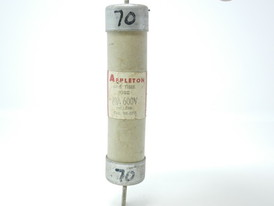 70 AMP APPLETON ONE TIME FUSE