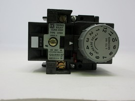 Square D 8501 timing relay