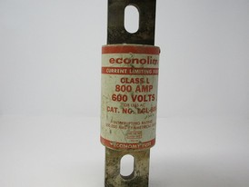 econolim current limiting 800 AMP class L fuse