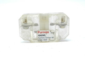 Furnace auxiliary contact