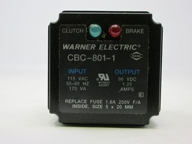 WARNER ELECTRIC 8 Pin CLUCTH BREAK  Relay