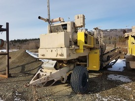 Cedarapids Portable Crushing Plant with Jaw and Rolls Crushers